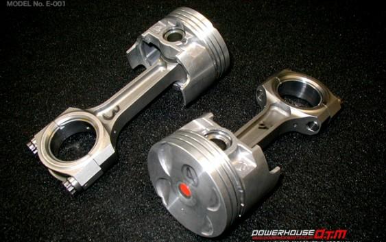 ダイハツ JBエンジン用 I型 断面鍛造強化コンロッド