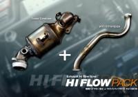 アルトワークス HA36用 ハイフローフロントパイプ+純正触媒ハイフロー加工KIT