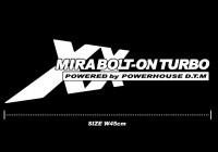 ミラ ボルトオンターボ専用 チューニングデカール